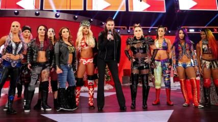 Ронда Раузи в отворено предизивкателство. WWE 17.12.2018