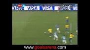 21.06 Италия - Бразилия 0:3 Луиш Фабиано първи гол ! Купа на Конфедерациите
