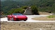 Ferraris on Mulholland - 360 Spider - 430 Scuderia - 328gts