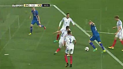 27.06.16 Англия - Исландия 1:2 * Евро 2016 *