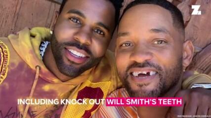 Вижте как Джейсън Деруло изби зъбите на Уил Смит