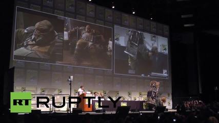 USA: 'Star Wars: The Force Awakens' hits Comic-Con