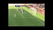 Гола Димитър Бербатов за Манчестър Юнайтед за 0 - 1 срещу Стоук Сити