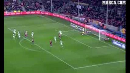 Barcelona 5 - Betis 0. Copa del Rey