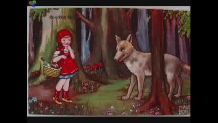 Дете фантазира и разказва приказката за Червената Шапчица