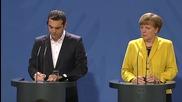 Когато Меркел и Ципрас нямат какво да си кажат