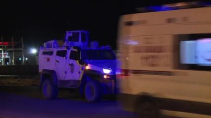 Turkey: Convoys of tanks and military vehicles arrive in Silopi near Iraq border