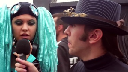 On! Fest 2013 Cosplay Interview - Cybergoth Hatsune Miku