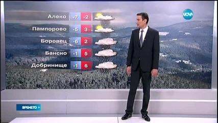 Прогноза за времето (09.04.2015 - обедна)