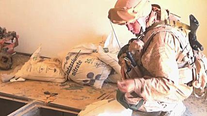 Разрушените сгради в Сирия - склад за муниции