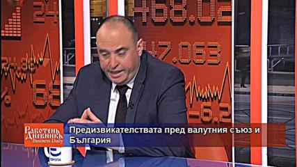 Предизвикателствата пред валутния съюз и България