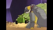 The Transformers (g1) - 2x21 - Desertion of the Dinobots Pt1