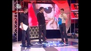 Иван разказва как се е озовал на медицинския купон, вместо на концерта:)) - music idol - 09.04.08 HQ