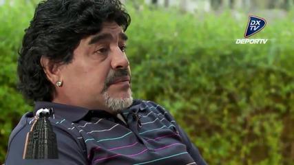 Марадона говори за Лео Меси