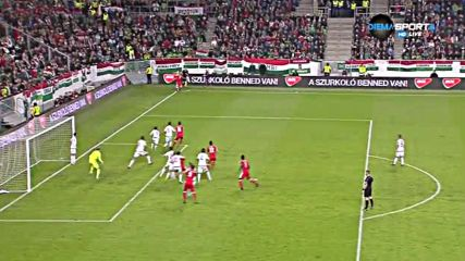 Унгария - Швейцария 0:0 /полувреме/