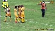 Синът на Ромарио с първи гол в кариерата