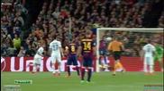 Барселона 2:0 Пари Сен Жермен 21.04.2015