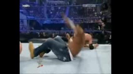 Unforgiven 2008-Cryme Tyme vs Cody Rhodes & Ted Dibiase