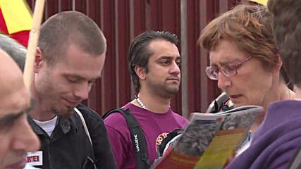 Germany: Pro-Kurdish demo rails against detainment of Kurdish prisoners in Berlin