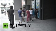 Greece: Athenians rush to withdraw money after Tspiras announces bailout referendum