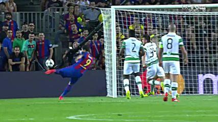 Ucl - Barcelona 7-0 Celtic Highlights (13.09.2016) [hd]