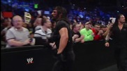 The Usos vs. Seth Rollins & Roman Reigns- Smackdown, Jan. 3, 2014