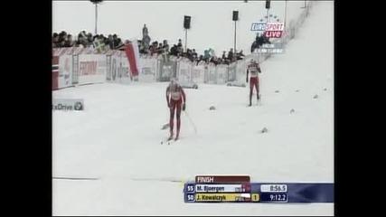 Марит Бьорген спечели бягането на 2.5 км. във Фалун