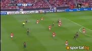 """Бенфика 0-2 Барселона, 02.10.2012, стадион: """" Ещадио да Луж """", Шампионска лига 2012/2013"""