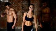 Фото сесия на една много красива фитнес моделка - Stephanie Davis