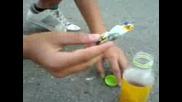 Как Да Направим Бомба От Оцет И Сода
