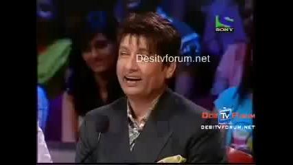 Sudesh Krishna as Old Man, Rakhi Sawant (comedy Circus Superstars Jadoo) - Youtube