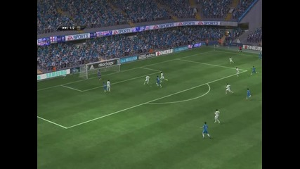 Мой гол ! Мултиплеър ( фифа 11 ) Челси 1 - 0 Реал М.