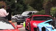 USA: Lamborghini stages supercar test drive at Concours d'Elegance weekend