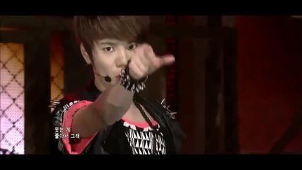 » H D « 110728 Infinite - Amazing & Be Mine [comeback Stage]