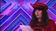 Jale Antor sings Cheryl Cole's Fight For This Love - Audition Week 1 - The X Factor Uk 2014
