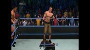 John Cena i The Rock vs The Miz i R-thuth