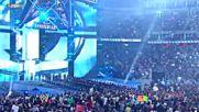 An army of John Cenas make their Wrestlemania entrance_ Wrestlemania 25