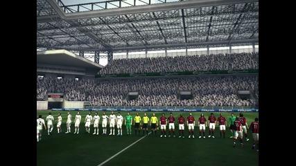 Pes 2010 - Real Madrid vs Milan