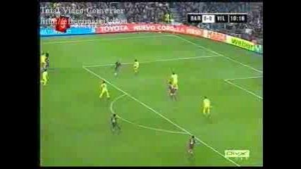 Etoo - Goal vs. Villareal