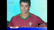 Cristiano Ronaldo - Beijo