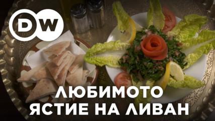 Табуле - националното ястие на Ливан