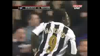 Newcastle - Watford 17.12.06