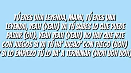Leyenda Justin Quiles Letra