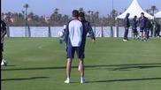 Старши треньорът на Сан Лоренсо си призна, че е привърженик на Барселона