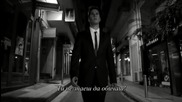 Превод! New 2014! Йоргос Цаликис - Виж ме! Tръгвам си...( Official Video)