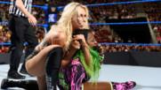 Шарлът Флеър (Светкавицата) vs. Наоми: SmackDown LIVE, 18 Април 2017
