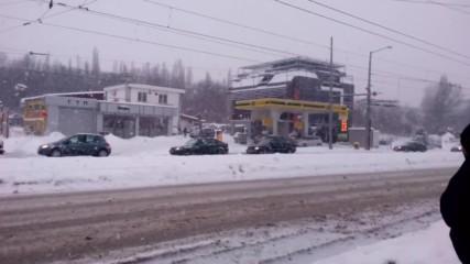 Сняг В София