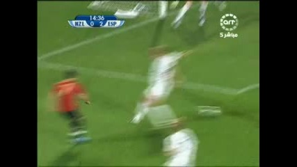 14.06 Испания - Зеландия 5:0 Фернандо Торес втори гол ! Купа на Конфедерациите