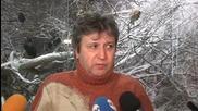 Червен сняг изненада русенци, виновни са птици (СНИМКИ + ВИДЕО)