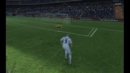 Феноменален Гол на Бензема Fifa 11